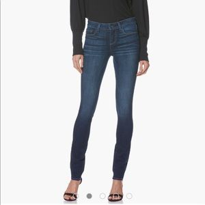 PAIGE Skyline Skinny Stretch Jeans Dark Wash